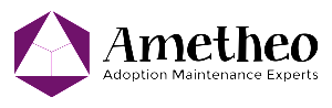 Ametheo logo - black text H