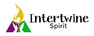 Intertwine Spirit logo - black text H